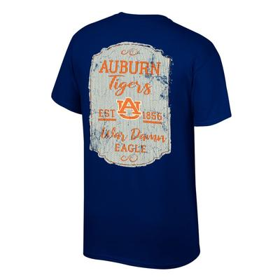 Auburn Women's Plaque and Logo Tee Shirt