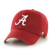 Alabama ' 47 Crimson Clean Up Hat