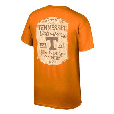 Tennessee Women's Plaque and Logo Tee Shirt