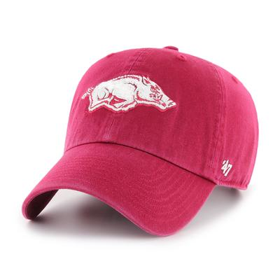 Arkansas '47 Red Clean Up Hat