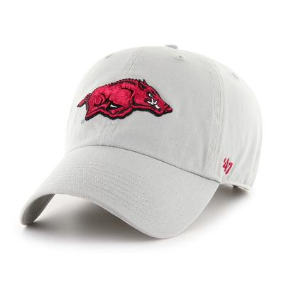 Arkansas '47 Grey Clean Up Hat