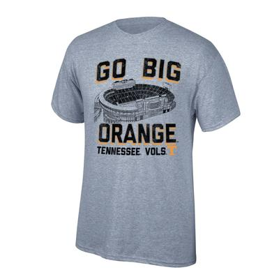 Tennessee Men's Go Big Orange w/ Neyland Stadium Tee