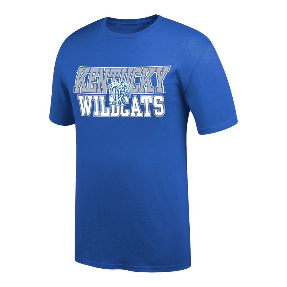 Kentucky Men's Wildcats Logo Tee Shirt