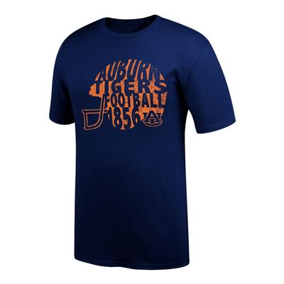 Auburn Women's Football Helmet Tee Shirt