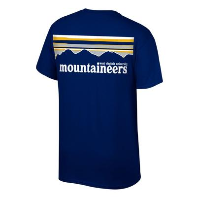 West Virginia Men's Mountainscape Tee Shirt