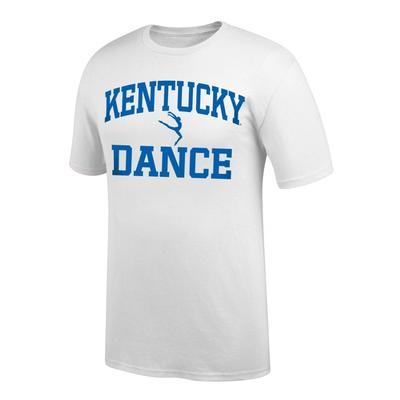 Kentucky Women's Dance Tee Shirt WHITE