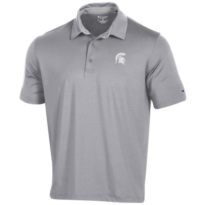 Michigan State Men's Champion Solid Polo w Logo