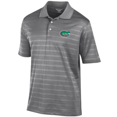 Florida Men's Champion Stripe Polo w Logo