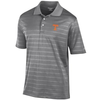 Tennessee Men's Champion Stripe Polo w Logo