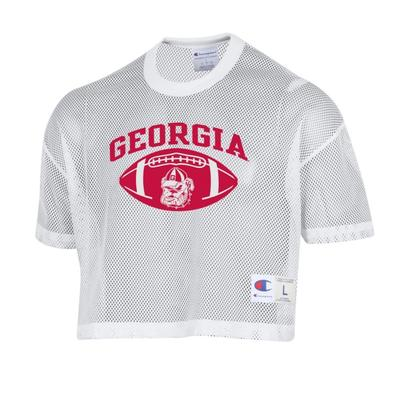 Georgia Women's Shimmel Crop Jersey