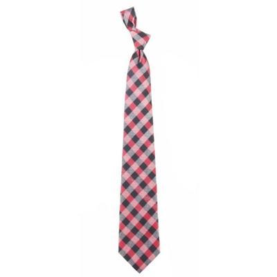 Arkansas Woven Check Tie