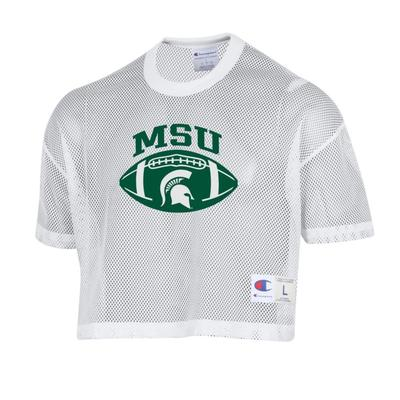 Michigan State Women's Shimmel Crop Jersey