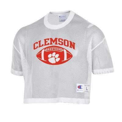 Clemson Women's Shimmel Crop Jersey