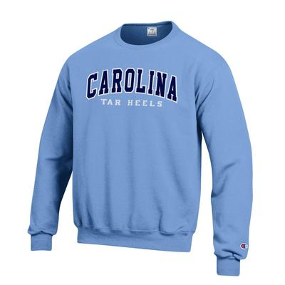 UNC Arch Logo Applique Crew Fleece