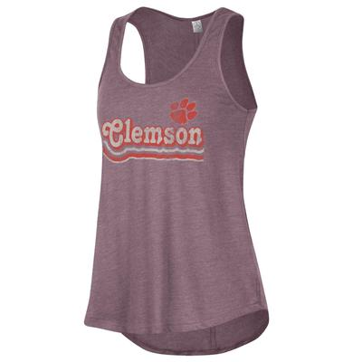 Clemson Alternative Apparel Back Stage Tank