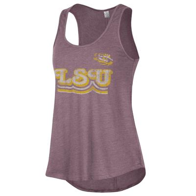 LSU Alternative Apparel Back Stage Tank