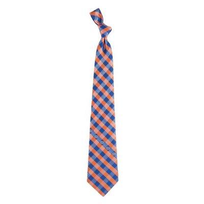 Florida Woven Polyester Check Tie