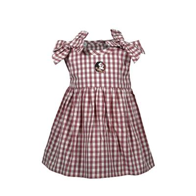 Florida State Infant Cora Gingham Dress