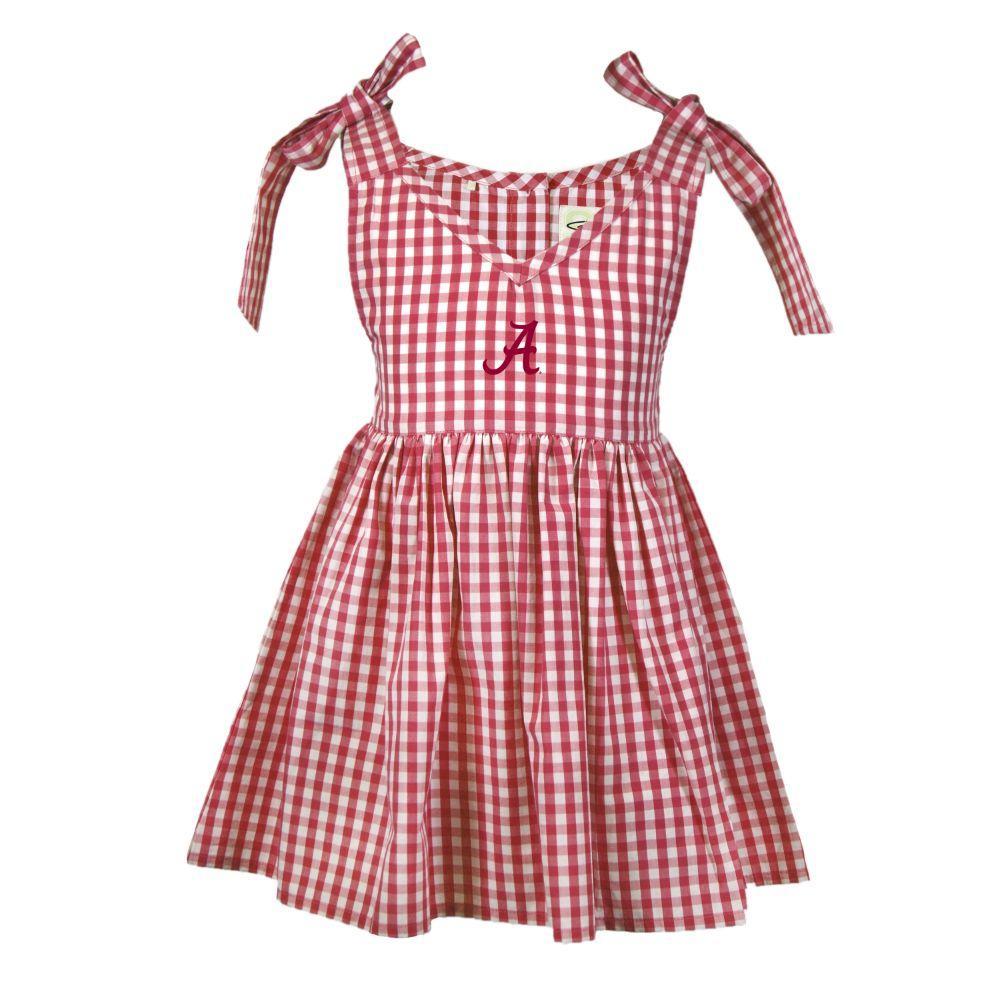 Alabama Toddler Cora Gingham Dress