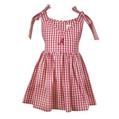 Alabama Toddler Cora Gingham Dress