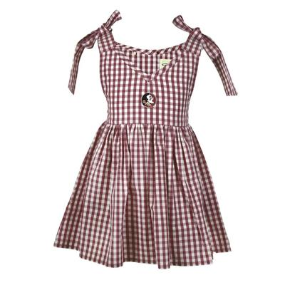 Florida State Toddler Cora Gingham Dress
