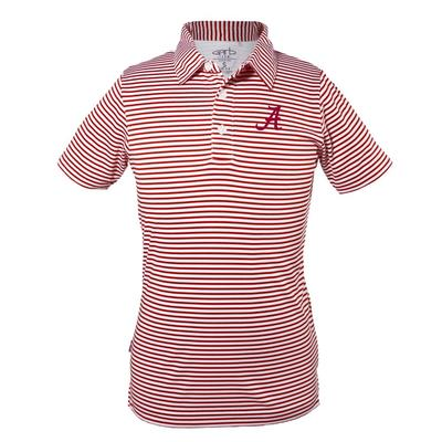 Alabama Toddler Carson Striped Polo