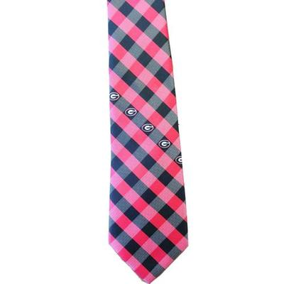 Georgia Checkered Tie