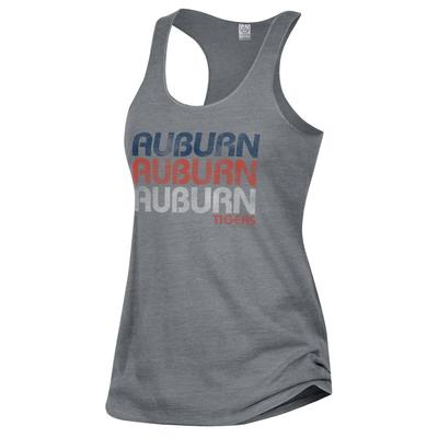 Auburn Alternative Apparel Stacked Wordmark Meegs Racerback Tank