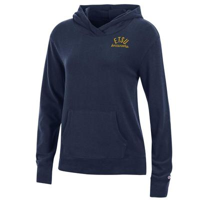 ETSU Women's Champion University Lounge Pullover w Hood