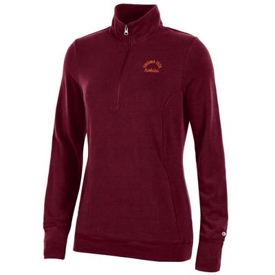 Virginia Tech Women's Champion University Lounge 1/4 Zip Pullover
