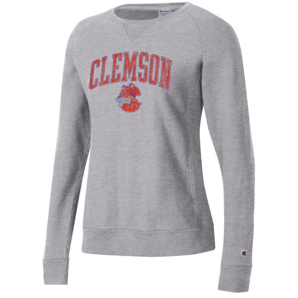 Clemson Women's Champion Crew Fleece