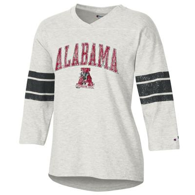 Alabama Women's Rochester Slub Football Tee Shirt