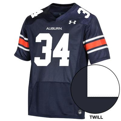 Auburn Under Armour Men's 34 Premier Replica Jersey NAVY