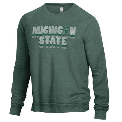 Michigan State Alternative Apparel The Champ Pullover Sweatshirt