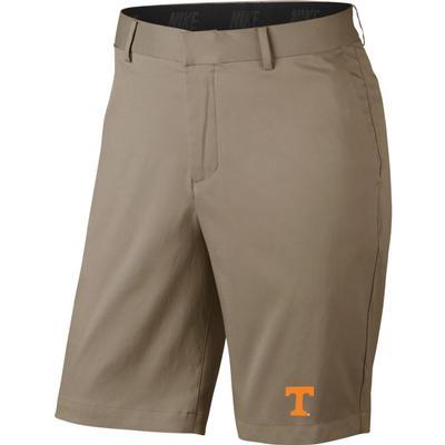 Tennessee Nike Golf Flat Front Shorts KHAKI