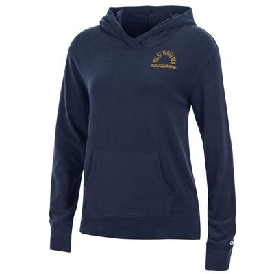 West Virginia Women's Champion University Lounge Pullover w Hood
