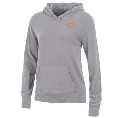 Clemson Women's Champion University Lounge Pullover w Hood