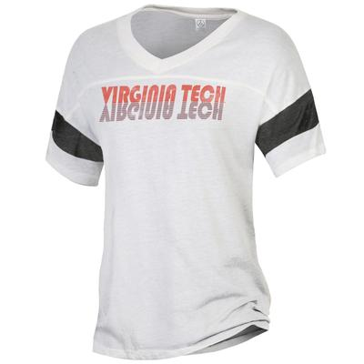 Virginia Tech Alternative Apparel Retro Powder Puff Tee