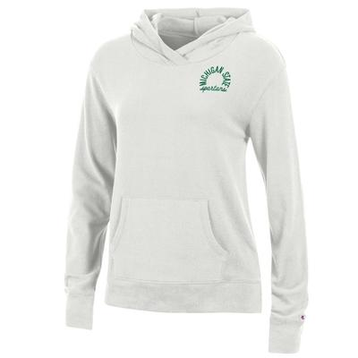 Michigan State Women's Champion University Lounge Pullover w Hood