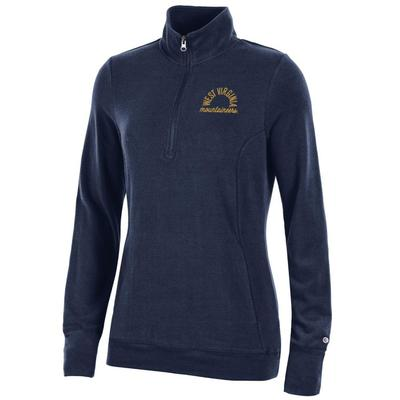 West Virginia Women's Champion University Lounge 1/4 Zip Pullover