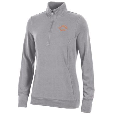 Clemson Women's Champion University Lounge 1/4 Zip Pullover