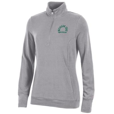 Michigan State Women's Champion University Lounge 1/4 Zip Pullover
