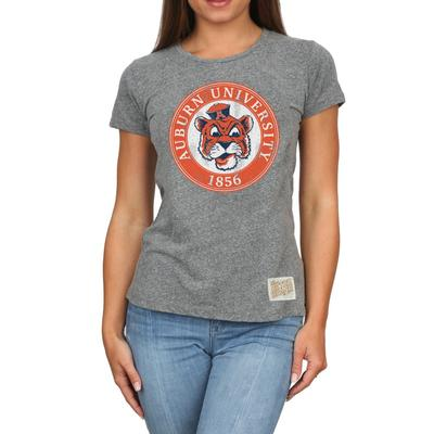 Auburn Retro Brand Melanie Circle T-Shirt