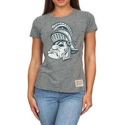 Michigan State Retro Brand Melanie Vault T-Shirt