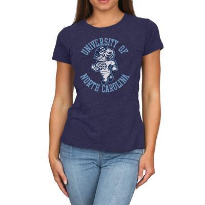 UNC Retro Brand Melanie Circle T-Shirt
