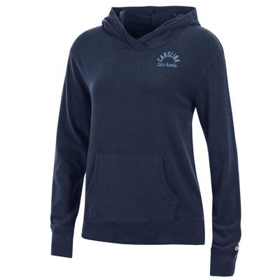 UNC Women's Champion University Lounge Pullover w Hood