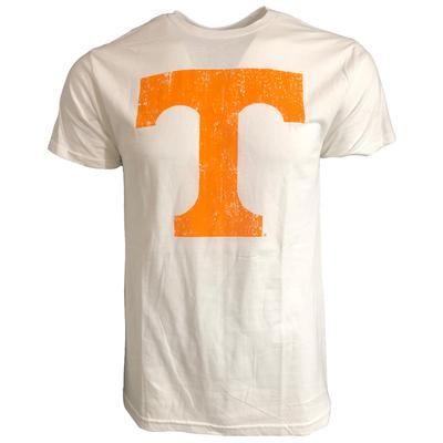 Tennessee Men's Giant Distressed Power T Tee Shirt