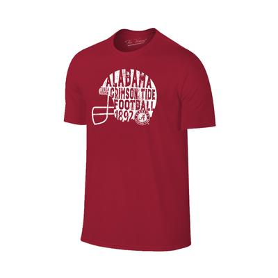Alabama Women's Written Helmet Tee Shirt