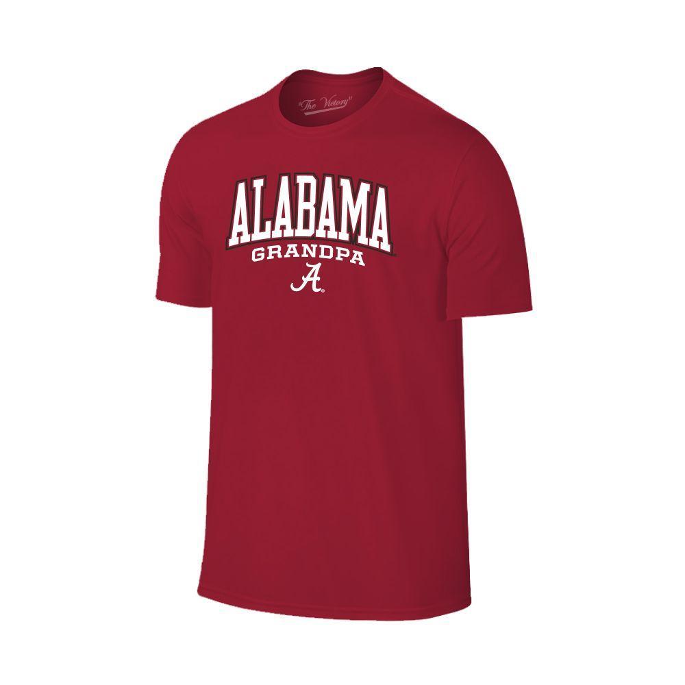 Alabama Arch Logo Grandpa Tee Shirt