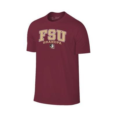 Florida State Arch Logo Grandpa Tee Shirt
